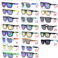 Wholesale 22models brand new AAA Quality Fashion Sunglasses Outdoor Sport SPY Glasses Cycling Driving Retro Sunglasses Freeshipping