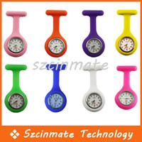 Wholesale Silicone Nurse Watch Nurse Pin Watch Hang Nurse Watch