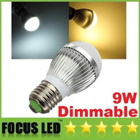 Wholesale CE ROHS UL CSA Dimmable W X3W Led Bulbs Light Globe Lamp E27 E26 GU10 B22 E14 Led Spot Ball Lights Warm Natural Cool White V
