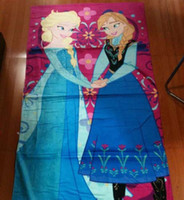 Frozen Towels Frozen Anna Elsa Beach Towel Frozen Baby Bath ...