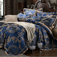 other Dobby Yes New.Luxury Tencel Modal silk Jacquard 4pcs bed linen bedding set Queen king size bedclothes Bed Sheet duvet cover set bedspread