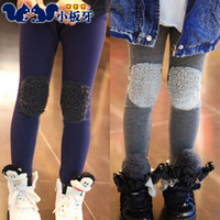 Jeans Girl Summer 2013 autumn and winter cotton velvet baby girls clothing patch legging boot cut jeans long trousers 5226