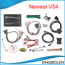 Wholesale 2014 Newly All software FG Tech Galletto Master V54 Works on Cars Trucks FGTech Galletto BDM TriCore OBD Function DHL