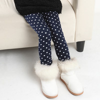 Jeans Girl Summer Children's clothing 2014 Brand spring and autumn female baby girl legging child boot cut jeans plus velvet thickening warm