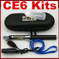 Ego t CE6 Electronic Cigarettes kits in carry case with lany...