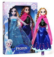 Wholesale Hot Sell Frozen Princess CM Frozen Doll Frozen Elsa and Frozen Anna Good Girl Gifts Girl Doll Joint Moveable