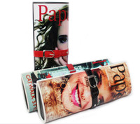 fashion magazine - Hot Sale Fashion Women Vintage Leather Magazines Bag Evening Bags PAPA Posters Women s Handbags L696
