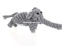 Wholesale retail pet product Cotton rope animal knot cotton rope cleaning teeth rope pet toy cats and dogs toys