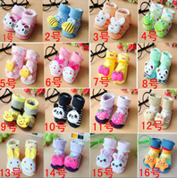 Cheap EMS FREE Stereo Cartoon Toy Socks Baby Sock Doll Sock Newborn Baby Sock Gift Sock Silicone Bottom Imitation Shoes Sock Non-slip SC06