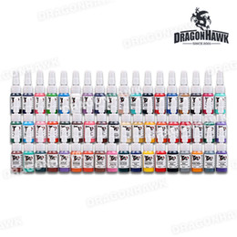 Wholesale Tattoo ink sets supply color kits mL Dragonhawk arrive within days SL042