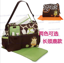 Wholesale new nappy mummy bag cartoon maternity handbag diaper bags baby tote