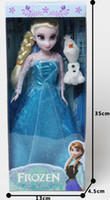 anna PVC frozen  Frozen Figure Play Set Elsa Anna Classic Toys Frozen Toys Dolls in box