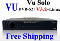 Receivers DVB-S Black V3.2 Vu Solo Accept Original Software BlackHole 1.7.9 DVB-S2 Linux Digital Full HD Satellite Receiver Set Top Box PVR DHL Free Shipping 1pcs