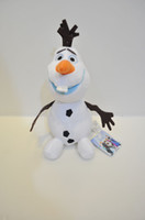 "Unisex 3-4 Years Movies & TV Wholesale - 2014 Frozen Lovely OLAF the Snowman Plush Doll Stuffed Toy 8"" 20cm toy for kids 100pcs L"