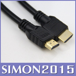 1.5M 5ft HDMI to HDMI Cable HDMI Version 1.4 Gold Digital Audio Video Cable Male to Male Cable Adapter for 1080p PS3 HDTV LCD 20pcs