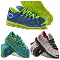 Mid Cut Men Summer Wholesale 2014 the latest edition KD 6 Elite sports shoes turbo green & Color Test kd-6 basketball shoes 3 type EUR 40-46