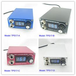 Wholesale Digital Mini LCD Display Tattoo Power Supply For Machine Kit Set Supply TPS17 Series