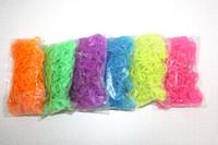 Charm Bracelets   rainbow loom Rubbers Glitter & Glow in the dark & Metallic & tie-dye Rubber bands 600bands+24pcs 100pcs