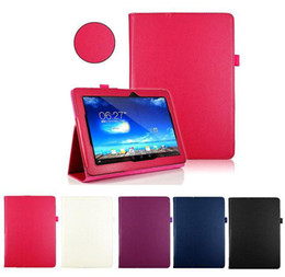Wholesale S5Q Folio Premium Leather Stand Case Cover For Asus MeMo Pad ME102A Tablet PC AAADDX