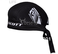 Wholesale Scott Team Headband New Cycling Outdoor Bicycle Sports Bike Bandana Pirate Scarf Hat Cap Sports Halo Headband Biking Pirates Hood