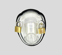 Male male bondage toys - BONDAGE CLEAR MALE POLYCARBONATE BOWL CHASTITY DEVICE NEW ARRIVAL FETISH SEX TOY A139