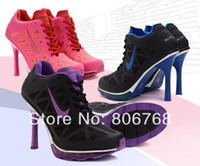 2014 new fashion women high-heeled shoes breathable mesh fine with low