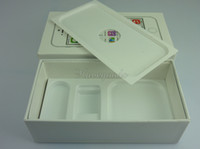 Wholesale Empty Retail Boxes only Boxes for iPhone S iPhone5S Black White Color