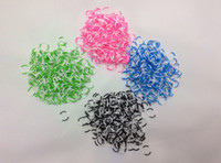 12-24M Multicolor Silicone Wholesale - rainbow loom Rubbers Glitter & Glow in the dark & Metallic & tie-dye Rubber bands 600bands+24pcs 500pcs