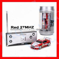 Wholesale Coke Can Mini RC Radio Remote Control Micro Racing Car