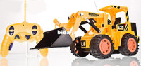 best remote control airplanes - big size RC bulldozer cars toys for children Remote control Channels truck best gift for kids