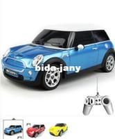 mini cooper rc car - Promotion New Kids Toys Scale Remote control car Medium Mini Cooper Rc Cars Radio Car unique toys