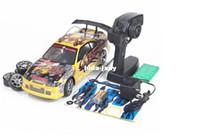 Jaune NOUVEAU NOUVEAU roulement de la voiture de course du rc de l'arrivée 1/14 REMOTE le jouet ÉLECTRIQUE de contrôle 4WD la haute qualité libre d'expédition