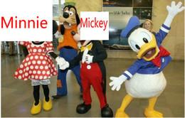 Wholesale Mouse dog Donald Duck Cartoon Costume Advertising Costume Cartoon mascot Costume Character Cartoon Costume