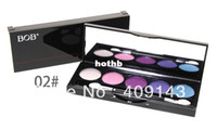 2 eye shadow 5 g Women Ladies Pro Eye Shadow Set Eyeshadow Beauty Make up Famous Brand BOB Palette Brush 2# High Quality Night club decoration