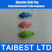 Wholesale Novel Electric Fish Toy Electronic Robofish Creative Baby toys