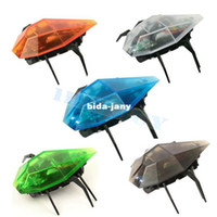 Wholesale Newest Scary RC Simulation Beetle Mini Robot With Remote Controller Kids Toy Gift GY amp