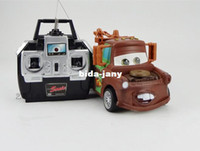 toy tow trucks - pixar toy car remote control RC Mater tow toy truck