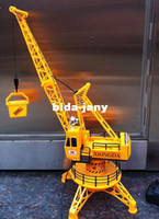 airplane engineering - Hercules wire remote control engineering car toys super large tower crane track truck cm high crane toy engineer boys viecle