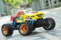 Wholesale HSP SCALE BRUSHLESS ELECTRIC POWER OFF ROAD MONSTER TRUCK Kidking RC HOBBY CAR WITH G RADIO CONTROL RTR PRO