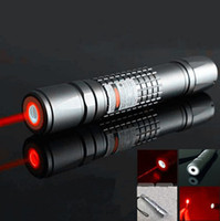 Red No No 20000mw adjustable focus lit cigarette burn match 5in1 Red lazer pointer pen waterproof laser torch free shipping
