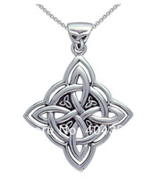 Wholesale fashion design antique silver celtic spiritual trinity symbol pendant necklaces jewelry