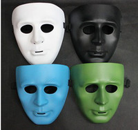 Wholesale new Hip hop JabbaWockeeZ Blank Male Face Mask Halloween Party Mask Worldwide