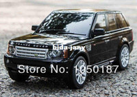 Wholesale 1 RASTAR Range Rover rc car Light educational gift for children electric car model and Collection cm without original box