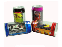 Wholesale Sunflower s CPAM free Cool New Mini RC Radio Remote Control Micro Racing Car Coke Aluminium Can Package