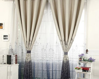 Wholesale 2016 Curtain The city of water Thickening shading cloth blue high end custom sitting room the bedroom curtains