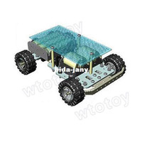 Wholesale Hot RC DIY wheel Mobile Platform small Robot Chassis arduino RC Car