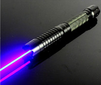 Wholesale 20000mw in1 Strong power military blue laser pointer burn match candle lit cigarette wicked lazer torch Watt