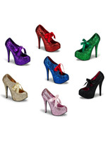 shoes paypal - Mixed batch Paypal DELHI professional production Glitter glitter Glitter PU scallions special leather shoe