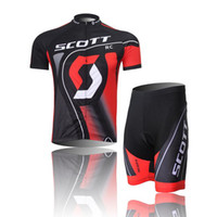 Short Anti Bacterial Unisex HOT!High Quality SCO red Bike Jersey Specialty Cycling Clothing Jacket Summer Bike Clothes BIB Shorts Breathable Wholesale 206