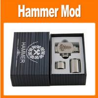 Single   Hammer E Pipe Mod Kit E cig Mechanical E-Pipe Mod E Cigarette for CE4 CE5 Vivi Nova U-DCT Atomizer